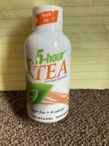 5 Hour Energy Natural Peach With Honey Tea 14 Count 1.93 oz Bottles