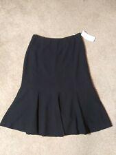 NWT NYGARD PETITES Size 10 P Black Trumpet Dress Skirt Career Dressy Skirt