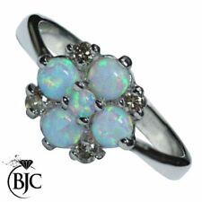 Gioielli di lusso cabochon di pietra principale opale diamante