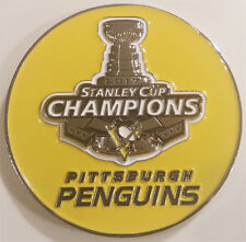 2017 NHL Stanley Cup Champions Pittsburgh Penguins Challenge Coin (non NYPD)