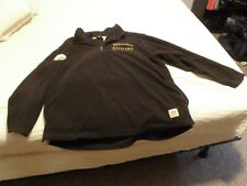 Pittsburgh Steelers 1/4 zip fleece jacket XL embroidered emblems