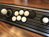Official TAITO vlx Arcade joystick JVS Panel (CONTROL PLATE KIT VEWLIX L)