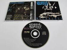 GENERAL SURGERY Necrology CD 1991 RARE OOP ORIGINAL USA 1st PRESSING RELAPSE!!!!