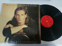 "Michael Bolton Time Love & Tenderness 1991 Spain Edition - 12"" vinilo LP vg/vg"