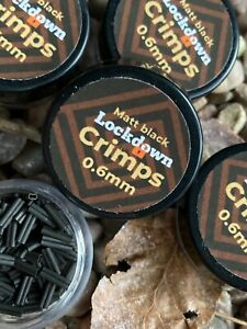 Carp fishing crimps.