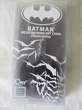 Quantum Mechanix Batman Metal Batwing Key Chain Stealth Edition in Box #6045