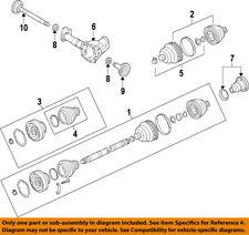 PORSCHE OEM 08-10 Cayenne Front Drive-CV Shaft Axle Assy 95534903813