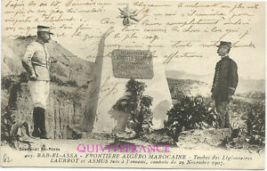 CPL62 - Marruecos - Bab el Assa Tumba Legionnaires Laubrot & Asmus Legión