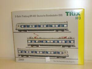 Trix HO: 22655 S-Bahn-Triebzug Baureihe 420 der DB, Ep IV, digi/ Sound, OVP NEU