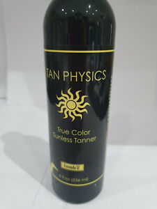 TAN PHYSICS True Color SUNLESS TANNER Formula 12  236ml