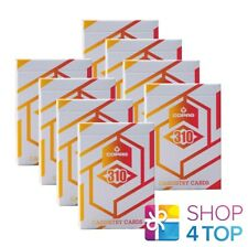 8 Decks copag 310 Cardistry Alpha Orange Magischer Karten Tricks Back Papier Neu