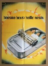 The Beastie Boys Hello Nasty Vintage Poster Promo 1990's Pin-up Retro Music Ad