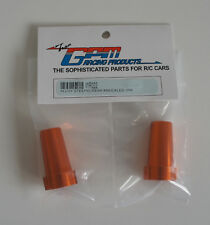 WR022 GPM Wraith Alloy Straight Axle Adapter x2 - Orange