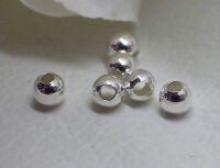 Sterling Silver 2mm Beads (Pkg of 500) !!!Buy 4 Packages 5th one Free!!!