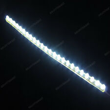 10 × White 24cm 24LED PVC Flexible LED Strip Light Waterproof for Car Motorcycle