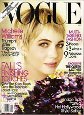 Michelle Williams Vogue Magazine Oct 2009 The Queen Mother Jude Law