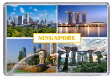 Singapore Fridge Magnet 01