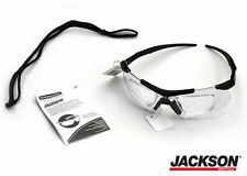 Jackson Safety Glasses V60 Safeview Clear Anti-Fog Lens with RX Insert 38503