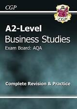 A2-Level Business Studies AQA Complete Revision & Practice by CGP Books...