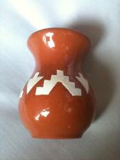 Vintage Sioux Pottery Rapid City South Dakota Small Vase MBT Deer