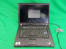 Lenovo Thinkpad T61p Intel Core 2 Duo @ 2.40GHz 128GB SSD 4GB RAM Linux Mint