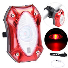 3W USB Rechargeable Raypal Rear Bicycle Light WaterProof Taillight Bike Cycling