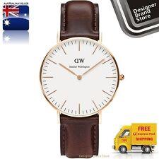 Daniel Wellington Ladies Watch Classic Bristol Rose Gold Brown Leather 0511DW