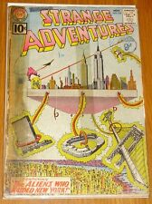 STRANGE ADVENTURES #134 FR (1.0) DC COMICS ALIENS NEW YORK NOVEMBER 1961*