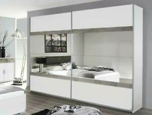 Rauch 'Penzberg' 270cm Sliding-Door Wardrobe German Bedroom Furniture