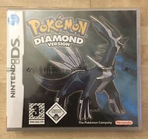 Pokemon Diamond Version Region Free Repro Sealed