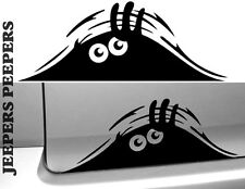 JEEPERS PEEPERS FUNNY PEEPING MONSTER VINYL DECAL STICKER FOR CAR TOILET ETC.