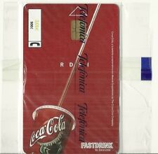 RARE / CARTE TELEPHONIQUE - COCA COLA / NEUF EMBALLE / PHONECARD NEW & SEALED