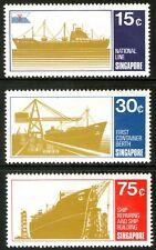 Singapore 1970 Singapore Shipping set of 3 Mint Unhinged
