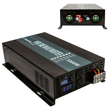 36V to 120V DC to AC Power Inverter 3000w Pure Sine Wave Battery Inverter Home