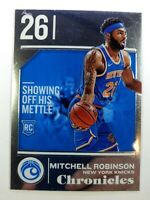 2018-19 Panini Chronicles Mitchell Robinson Rookie RC #521, New York Knicks