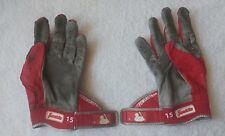 Dustin Pedroia Game Used batting gloves Boston 2017 Redsox