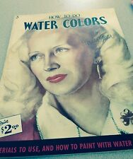 How To Do Water Colors By Walter Foster Materials To Use & How To Paint