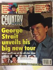 Country Weekly-04/14/98 George Strait Neal McCoy Mark Chestnut TJ Sheppard