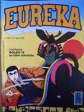 EUREKA n°8 1980 GOLGO 13 di TAKAO SAITO   [G323]