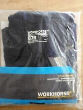 WORKHORSE/ MOVOO2/ 3M INDUSTRIAL TAPE COTTON COVERALL/ 190GSM/ NAVY/ Size: 87R