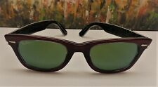 Ray-Ban Wayfarer RB2140 Red Multi / Green Sunglasses - $175