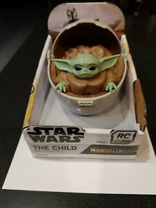 STAR WARS BABY YODA AND PRAM (Hover Pod Carrier)   (RC)