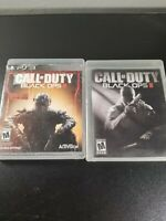 Call of Duty: Black Ops 2 + 3 - Sony PlayStation 3 PS3 - No Manuals