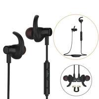 Wireless Bluetooth 4.1 In-ear Earbud Headphones Stereo Earphones Headset w/Mic