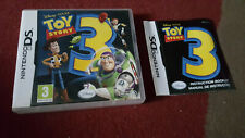 Toy Story 3 on Nintendo DS Case manual included (Starting Bid £1.20) NO GAME