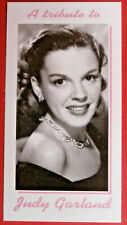 JUDY GARLAND - Card # 07 individual card - Tribute Collectables - 2010
