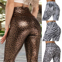 Women High Waist Yoga Pants Fitness Leggings Sports Gym Workout Push up Trousers