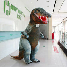 Adults Cosplay T-REX Dinosaur Inflatable Costumes Dress Blowup Outfit Jurassic