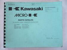 MANUEL PARTS LIST  KAWASAKI KLX 650 -A1  1993