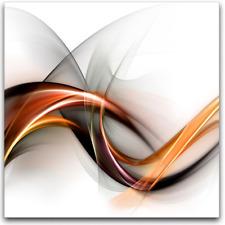 Wandbild ABSTRAKCJA BIAŁA Abstract Kunst Art Bild Glasbild 0.4 x 30 x 30 cm
